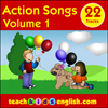 Songs to learn English  from teachkidsenglish.com