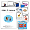CARTAS DE JUEGO para aprender inglés +  libro electrónico con los juegos