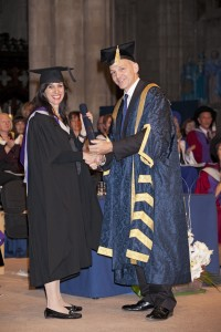 Naomi Simmons Honorary Masters